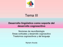 Desarrollo lingüístico e Hipótesis Infantiles Myriam