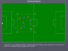 Trabajos Tácticos - futbol formativo