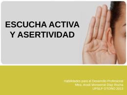 Escucha activa - Arodí Monserrat Díaz Rocha