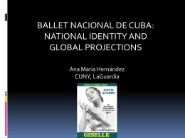 Hernandez Presentation Baile Nacional de Cuba