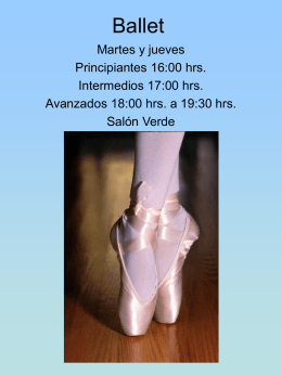 Ballet - Club Cuicacalli
