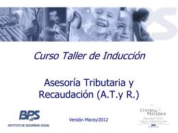 Operativa ATYR - Banco de Previsión Social