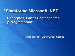 Breve descripción del Framework .NET