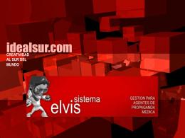 Presentación Módulo de Costeo y Eficiencia en Sistema Elvis