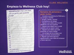 tarjeta del club wellness