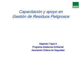 documento apoyo Sr. Alejandro Tapia, Jefe Area Medio
