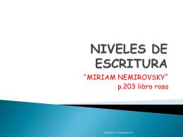 NIVELES DE ESCRITURA - La Casita de los Peques