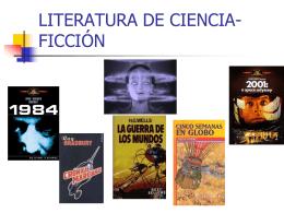 ciencia ficcion - Letras, libros, sueños