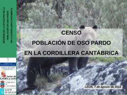 Censo oso pardo