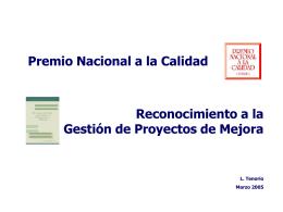 MODELOS DE EXCELENCIA EN LA GESTIÓN Malcolm Baldrige