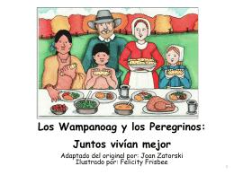 Los Wampanoag y los Peregrinos