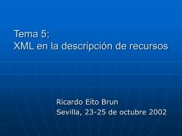 MARC y XML
