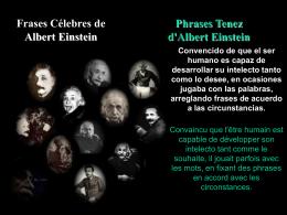 frases de Albet Einstein