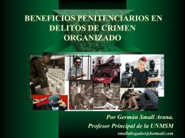 delitos de crimen organizado & beneficios penitenciarios