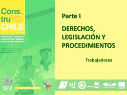 """Módulo 1: """"Derechos, Legislación y Procedimientos"""""""