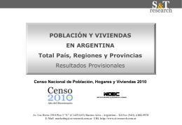 Datos Censo 2010