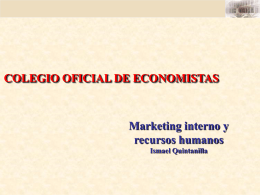 Marketing y recursos humanos