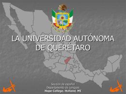 UNIVERSIDAD DE QUERETARO