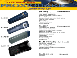 Mod. PG-1800 ProxiLite
