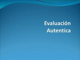 Evaluación - evaluatec