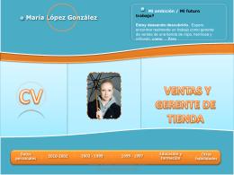 Presentación mejorada de María López