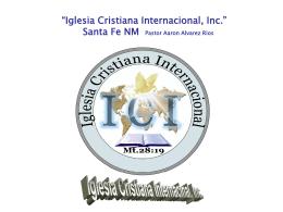 1.- EL TRIBUNAL DE CRISTO - Iglesia Cristiana Internacional,Inc.
