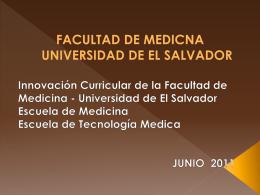 ANEXO 2 - Proyección social curricular en la Facultad de Medicina