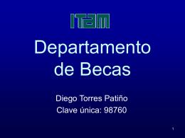 Departamento de becas - ITAM - Correo electrónico para