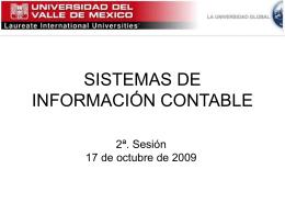SISTEMAS DE INFORMACIÓN CONTABLE 2a