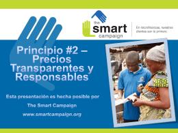 Precios Transparentes y Responsables