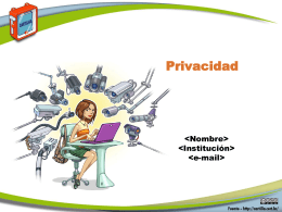 Diapositivas PowerPoint - Cartilla de Seguridad para Internet