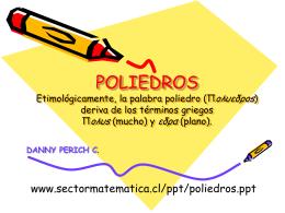 poliedros - Departamento de Matemáticas, Universidad de los Andes