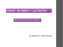 OVACE Y RCP Lactantes