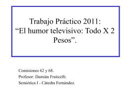 Presentación Damián Fraticelli