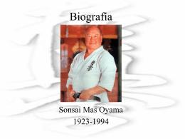 Biografia Mas Oyama