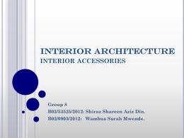 5. Interior Accessories