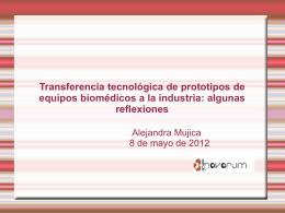 Presentación de una novedad - Núcleo de Ingeniería Biomédica