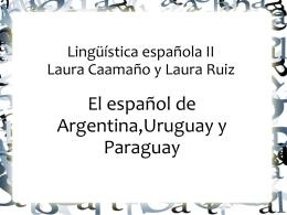 Laura Caamaño Palau y Laura Ruiz Gago