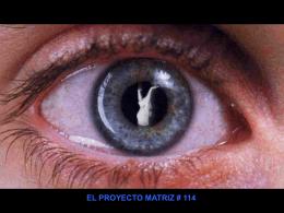 OTRAS VERSIONES II - El Proyecto Matriz