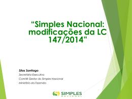 LC 147/14, Alterações Simples Nacional