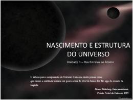 nascimento do Universo