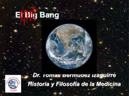 El Big Bang - WordPress.com