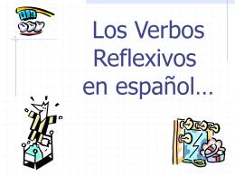 Powerpoint- los verbos reflexivos conjugation