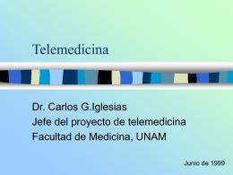 telemedicina - Facultad de Medicina