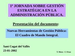 T. Mora - C.Vivas