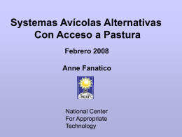 Libres en pastura - ATTRA - National Center for Appropriate