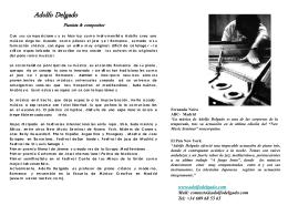 Dossier Adolfo Delgado
