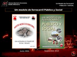 El ferrocarril publico y social