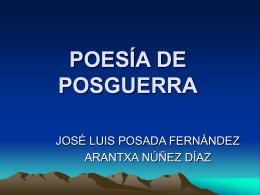 Posguerra 2