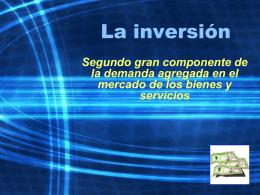 La Inversión. Cely Ronquillo